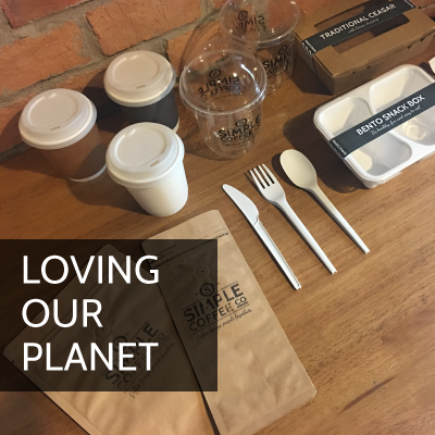 Simple Coffee Loving Our Planet