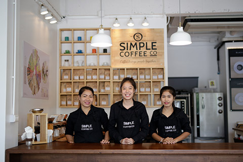 Simple Coffee Shop