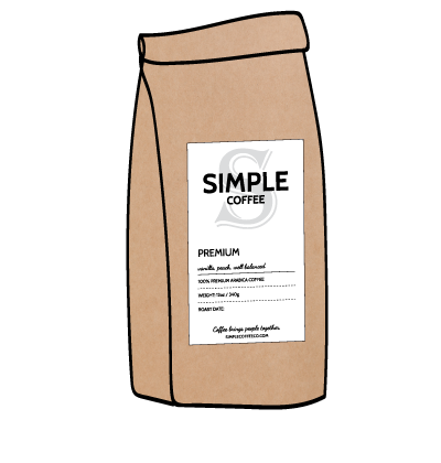 Simple Coffee 1 Bag Subscription